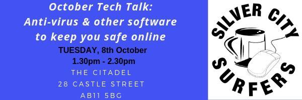October tech talk