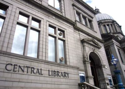 Aberdeen central library